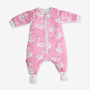 Babyboo Snuggleboo Sleepsuit Pink Swans 2.5 Tog