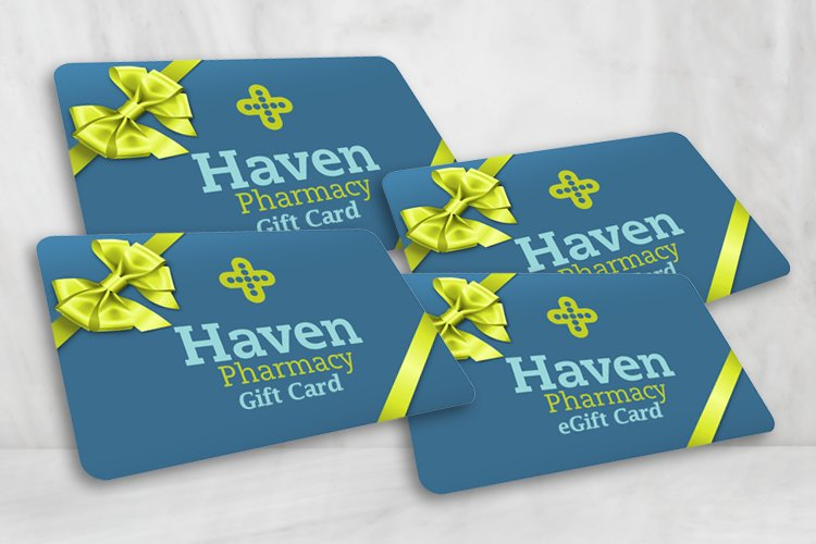 Haven Pharmacy Gift Cards and eGift Cards