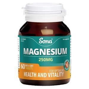 Sona Magnesium 250mg 60 Tabs
