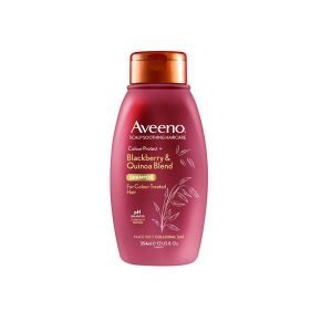 Aveeno Scalp Soothing Haircare Colour Protect Blackberry & Quinoa Shampoo 354ml